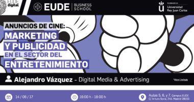 """Foto de - Seminario """"Anuncios de cine: Marketing y Publicidad en el sector del entretenimiento"""""""