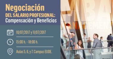 """Foto de - Seminario """"Negociación de salario profesional, compensación y beneficios"""" en EUDE Business School"""